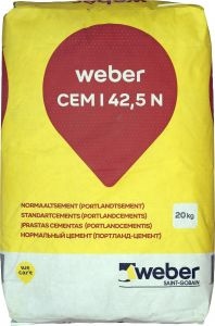 Normaaltsement CEM I 42,5 N 20 kg