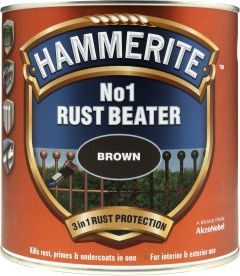 Kruntvärv Hammerite No.1 Rustbeater 500 ml, pruun