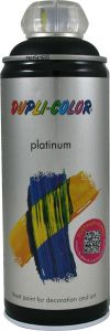 Aerosoolvärv Platinum 400 ml, must