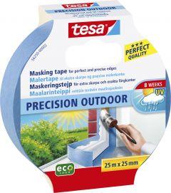 Maalriteip Tesa Precision outdoor sinine  25 m x 25 mm