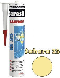Sanitaarsilikoon Ceresit CS25 280 ml, Sahara 25