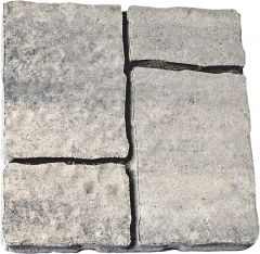 Sillutiskivi plaat Germaani 40 x 40 x 6 cm, antratsiit/beež