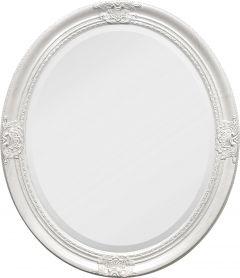 Peegel Bari ovaalne valge