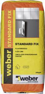 Plaatimissegu Standard Fix 25 kg