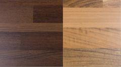 Dekoratiivne taustaplaat Walnut Block/WoodmiX Wenge