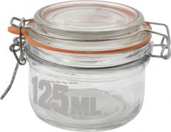Klaaspurk tekstiga 125 ml