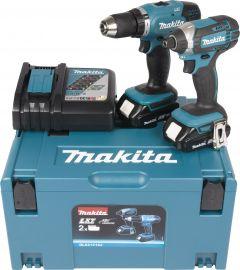 Akutööriistade komplekt Makita Combokit DLX2141AJ, 18 V + 2 x 2 Ah