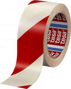 Ohuteip punane-valge 33 m x 50 mm