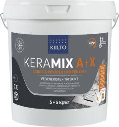 Hüdroisolatsioonimastiks Keramix A + X 5 + 5 kg