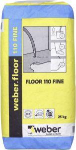 Isetasanduv põrandasegu 110 Fine 20 kg