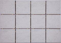 Põrandaplaat Arctic 10 x 10 cm Valge
