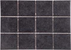Põrandaplaat Arctic 10 x 10 cm Must