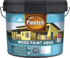 Puitfassaadivärv Pinotex Wood Paint Aqua 9 l, tumepunane
