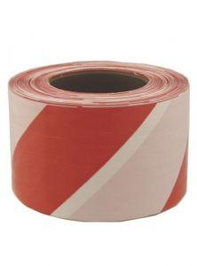 Ohuteip punane-valge 80 mm x 250 m