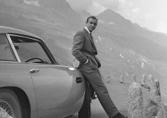 Sisustuspilt James Bond - Aston Martin