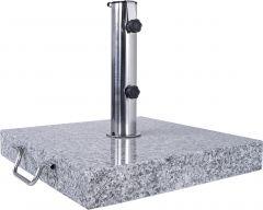 Graniidist päikesevarju jalg 45 x 45 x 6,5 cm, 35 kg