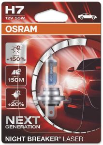 Autopirn Osram H7 Night Breaker Laser