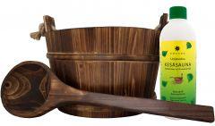 Saunakibu, leilikulp ja leiliaroom Suvesaun 500 ml
