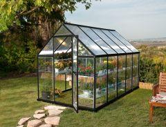 Kasvuhoone Hybrid Grey 5,7 m²