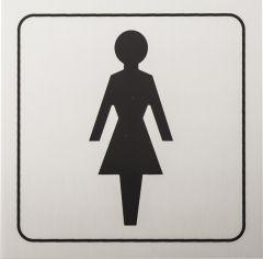 Kleebis naiste WC