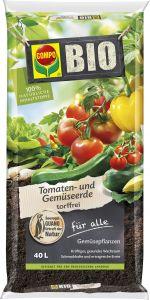 Tomati- ja köögiviljamuld Bio 40 l