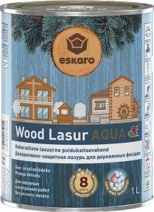 Dekoratiivne puidukaitsevahend Wood Lasur Aqua 1 l