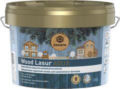 Dekoratiivne puidukaitsevahend Wood Lasur Aqua 2,5 l
