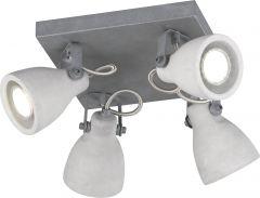 Kohtvalgusti Concrete 4-osaline
