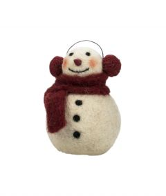 Jõulukaunistus Lumememm 11 cm