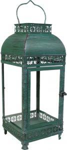 Küünlalatern 16 x 15,5 x 37 cm roheline