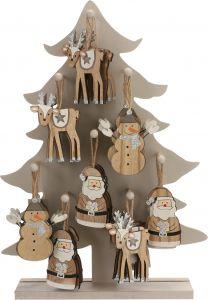 Jõulukaunistus 18 x 11 cm