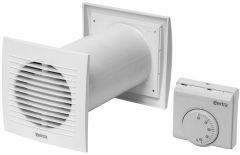 Ventilatsiooni komplekt termostaadiga 100 mm