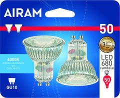 LED-lamp Airam GU10 2 tk/pakk