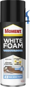 Montaaživaht Moment White Foam Window&Door, 400 ml