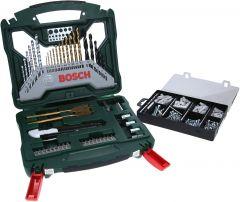 Tarvikute komplekt Bosch X-line 50-osaline