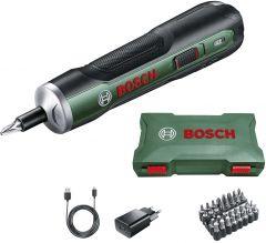 Akukruvikeeraja Bosch PushDrive