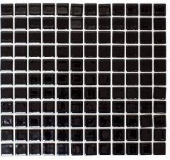 Mosaiik Square must läikiv 30 x 30 cm