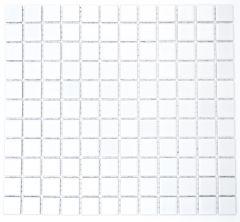 Mosaiik Square valge läikiv 30 x 30 cm