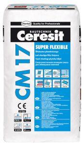 2 kotti Ülielastne plaatimissegu Ceresit CM 17 25 kg