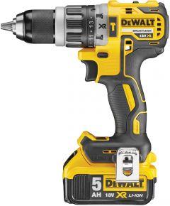Akulööktrell Dewalt DCD796P2 , 18 V + 2 x 5 Ah