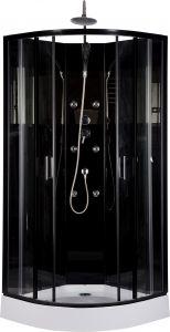 Dušikabiin Black Onyx 85 x 85 x 220 cm
