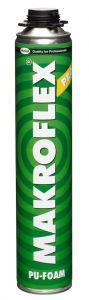 3 pudelit püstolivahtu Makroflex Pro 750 ml