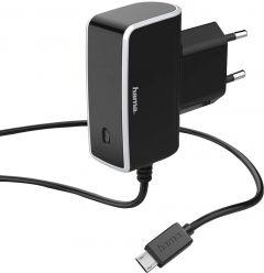 Vahelduvvoolu adapter Hama MicroUSB 1 A
