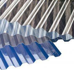 Laineplaat Gutta PVC laineline kirgas 0,7 x 900 x 3000 mm