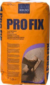 2 kotti Plaatimissegu Pro Fix 20 kg