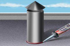 Katuse hermeetik Sika BlackSeal- BT, must 300 ml