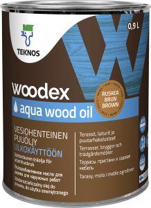 Puiduõli Woodex Aqua Wood Oil, pruun
