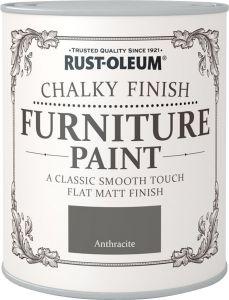 Mööblivärv Rust-Oleum Chalky Finish Anthracite 750 ml