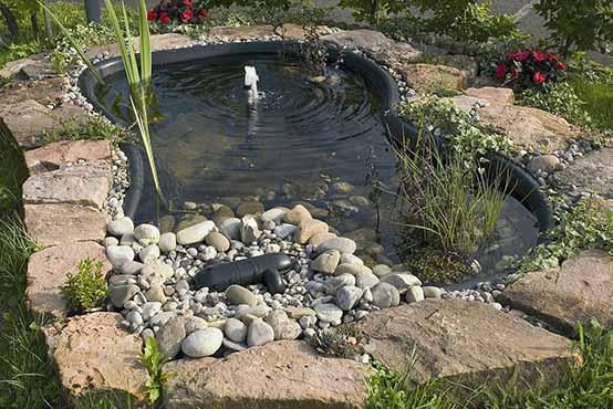 Loodusliku veesilma rajamine koduaeda